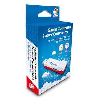 SG Seller - Brook Design - P3/4-NGm Game Controller Super Converters PS3/PS4 to Neogeo Mini