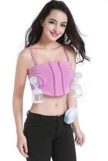 Handsfree pumping bra