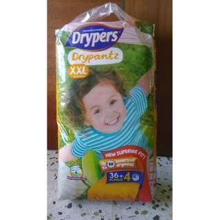 Drypers XXL diapers