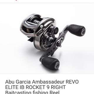 Abu garcoa revo elite ib rocket 9