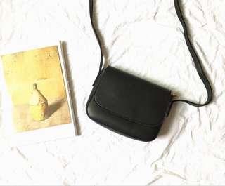 Basic Black Sling Bag
