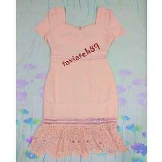 BNWT Doublewoot Peach Dress Size M#cnycs#cnyga