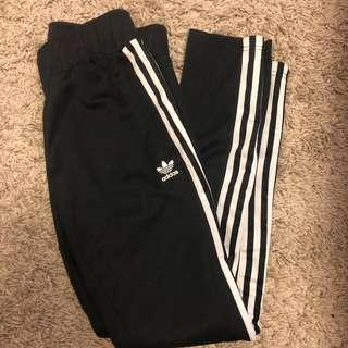 Adidas track pants stripe