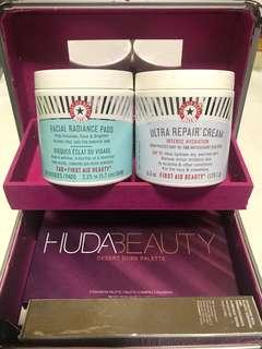 FIRST AID BEAUTY ULTRA REPAIR CREAM & FACIAL RADIANCE PADS