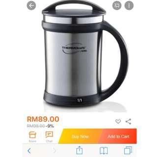 Themos stainless steel mug by themos