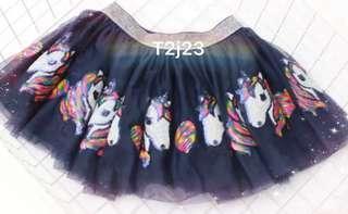 Unicorn navy  tutu skirt