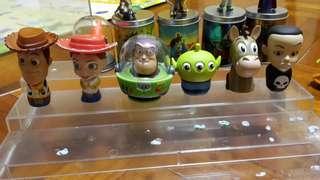 Toy Story 反斗奇兵扭蛋齊一套(轉眼中古品)