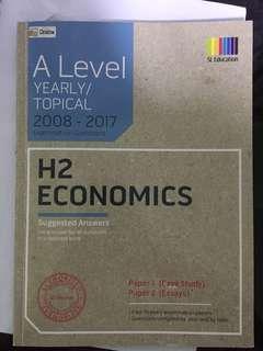 H2 Economics TYS questions
