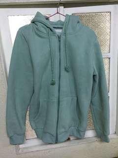 OB湖水綠刷毛外套/XL號/無瑕疵/全新剪標