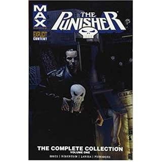 Punisher Max by Garth Ennis Complete Run