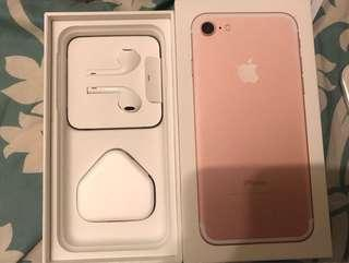 iPhone 7 128GB including new Glass cover