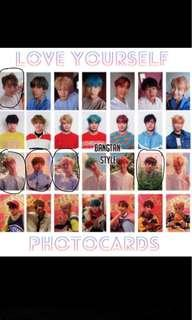 Looking for Bts official photocards