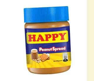 Happy peanut Spread