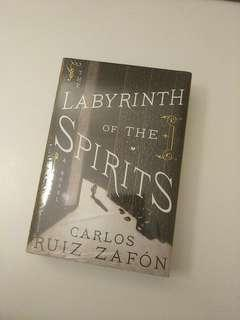 The Labyrinth of the Spirits (Cemetery of Forgotten Books) Hardcover by Carlos Ruiz Zafon New Book #tgv3