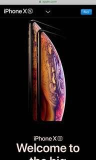 New IPhone -XS/XR Series