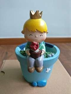 Little Prince Flower Pot (le petite prince)