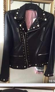 Lambskin  biker jacket