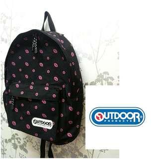 Outdoor Black Backpack