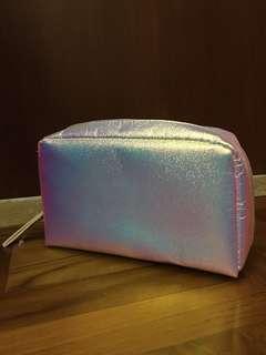 Holographic makeup bag