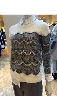 French style lace sweater