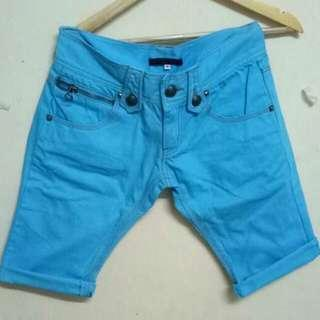 Light Blue Short From Japan (M)