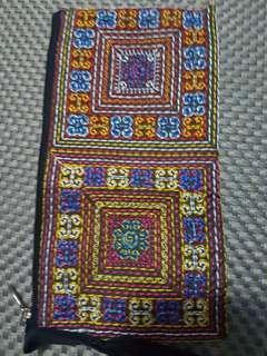 Phone Pouch Multicolor Zip