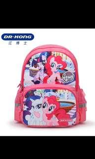 Brand new Authentic Dr Kong pink Little Pony S Size Bag