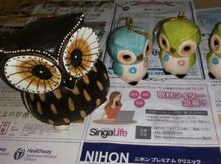 Owls Decorative