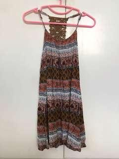 Forever 21 sexy back dress