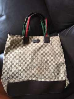 Gucci tote bag 👜「#selffaster」