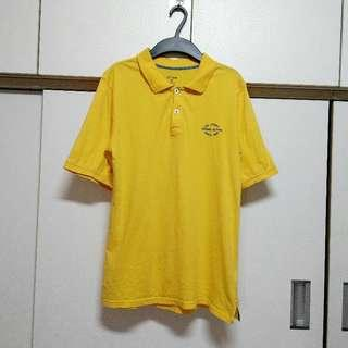 🚚 正品urban黃色短袖上衣尺碼14/約男生S碼