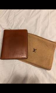 Louis Vuitton Leather Bifold Wallet