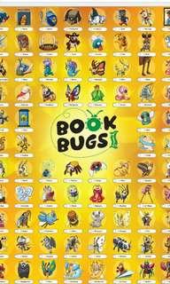 Book bugs 2 normal cards total 65 pcs