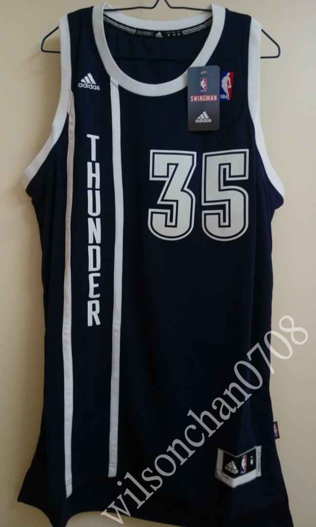 d2d733d8d1c Adidas Oklahoma City Thunder Kevin Durant 2nd Road Swingman Jersey ...