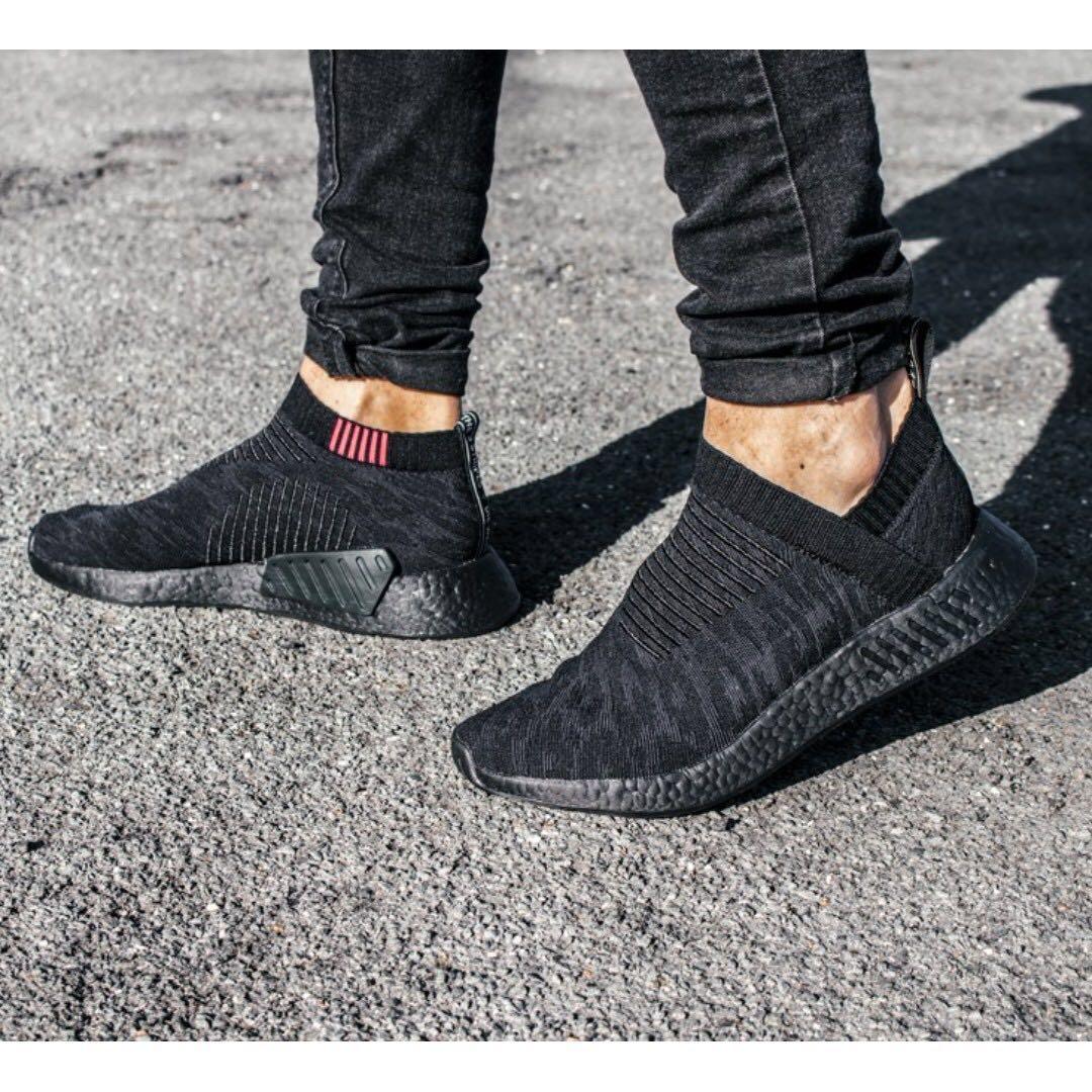 """7e3ccc0fbe2 Adidas Originals NMD CS2 PK """"Triple Black"""" CQ2373"""