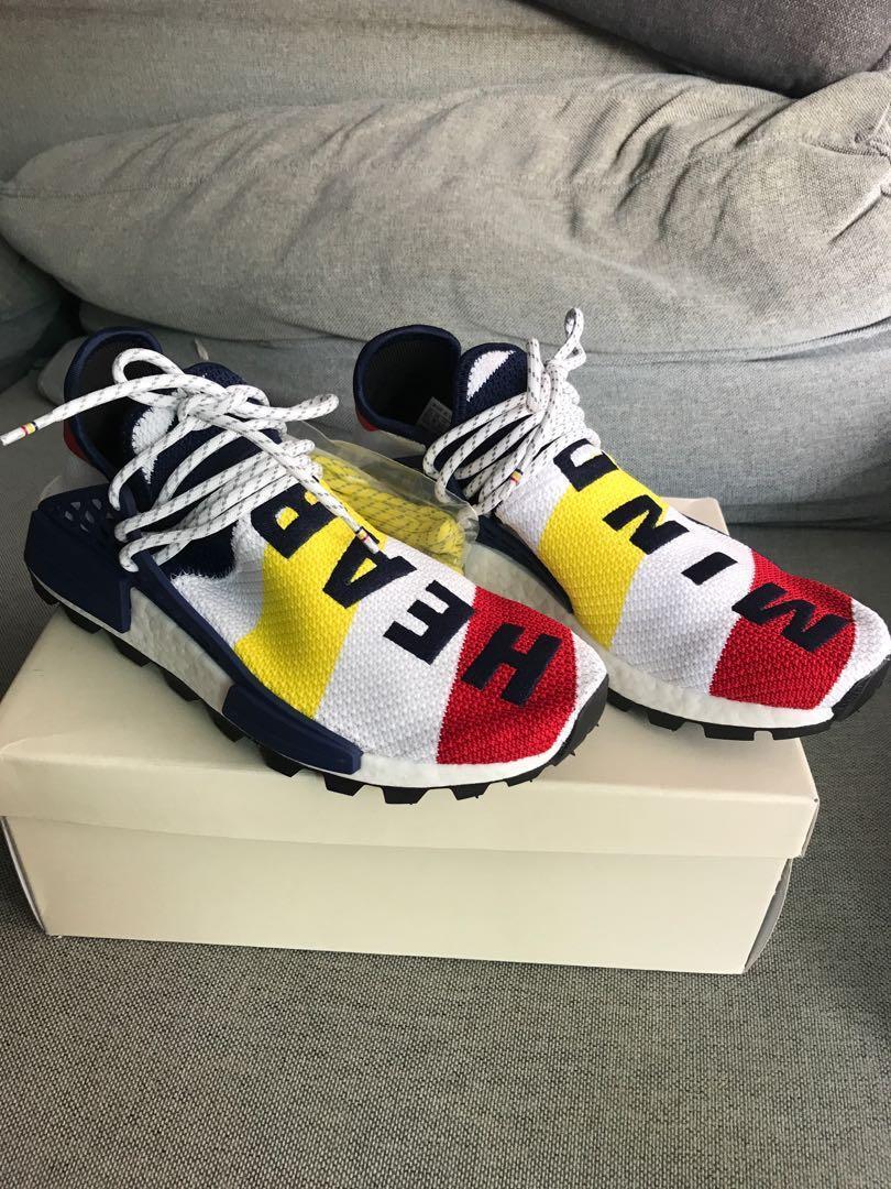 huge selection of d86c8 bc626 Adidas Pharrell Williams BBC HU NMD, Men's Fashion, Footwear ...