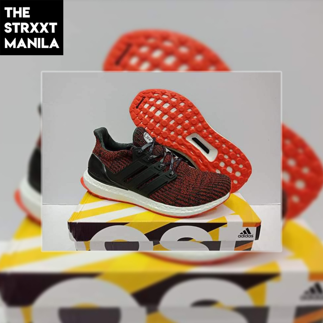 2592a10bfbce adidas Ultraboost 4.0 Night Red / Noble Maroon, Men's Fashion ...