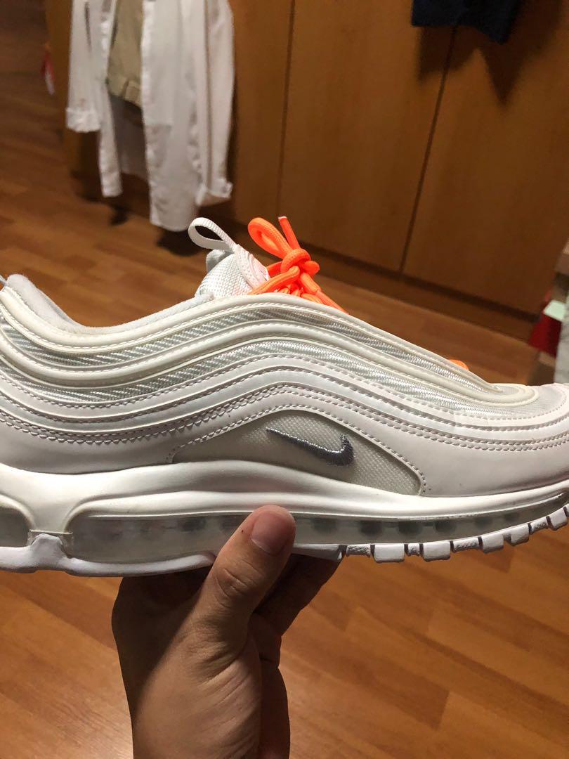 e4ffc18321 Air Max 97 Triple White, Men's Fashion, Footwear, Sneakers on Carousell
