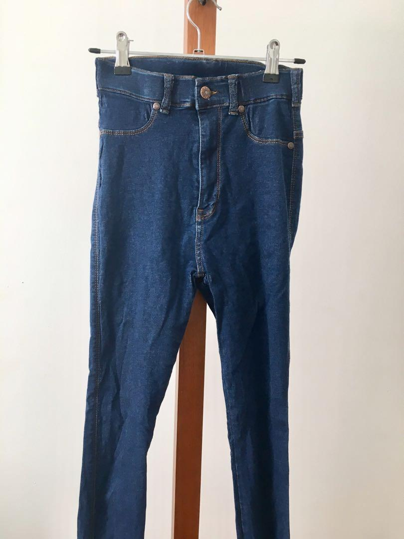 AS NEW Dr Denim Second Skin High Waist Jeans - Size S