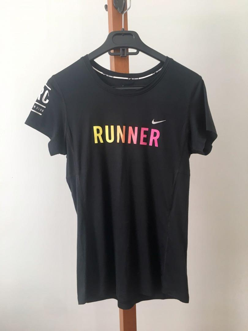 AS NEW Nike Runner Dri-Fit Exclusive Shirt - S