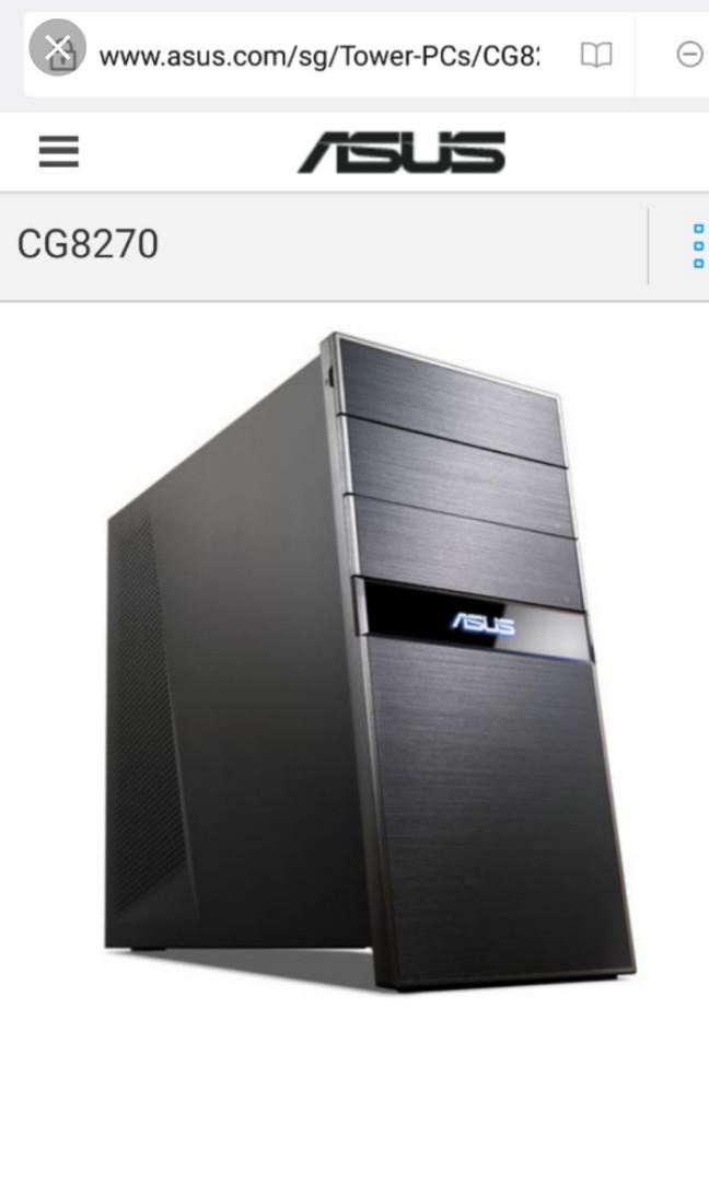 f6e65b3e2a2c66 ASUS Gaming PC Desktop CPU core i7 (Razer Logictech DELL LED PRISM+ ...