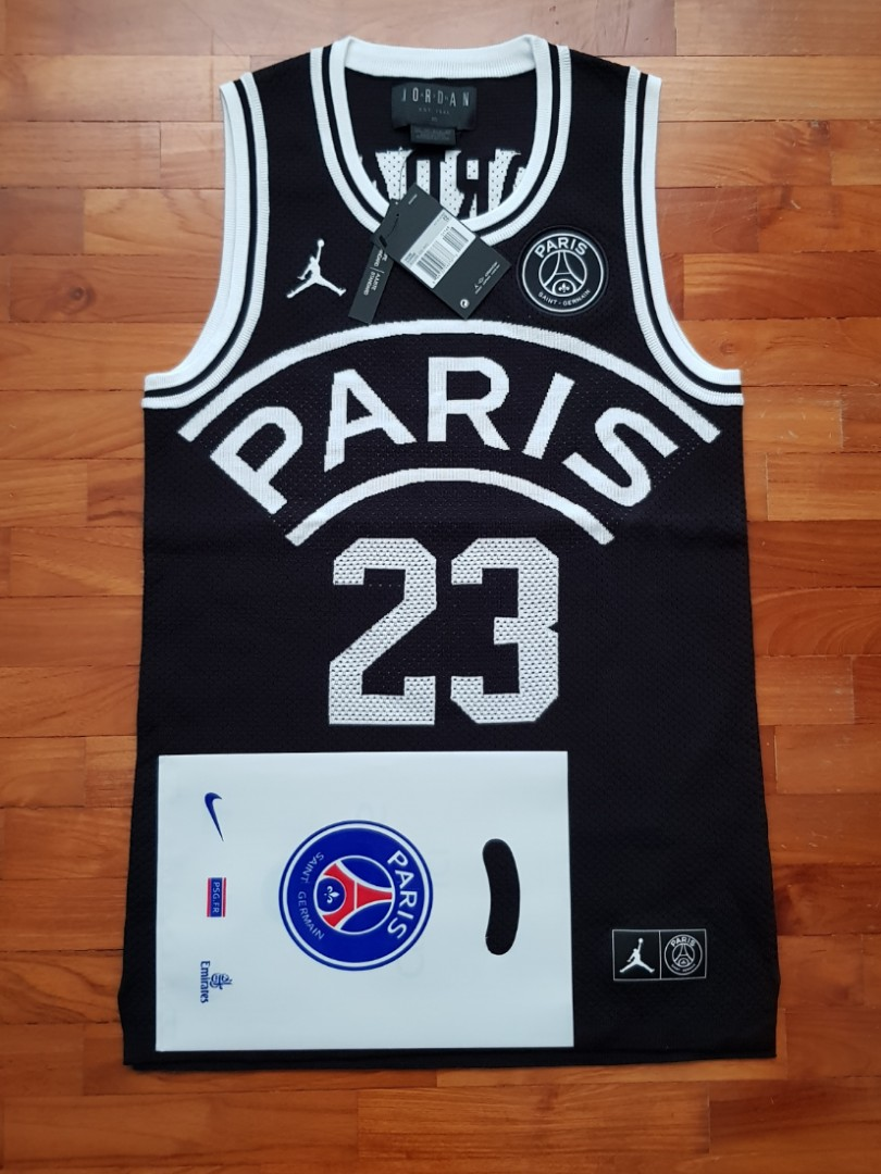 0a2f0a4decd5 Authentic NIKE Air JORDAN x PSG FLIGHT 23 Knit Jersey (XS)