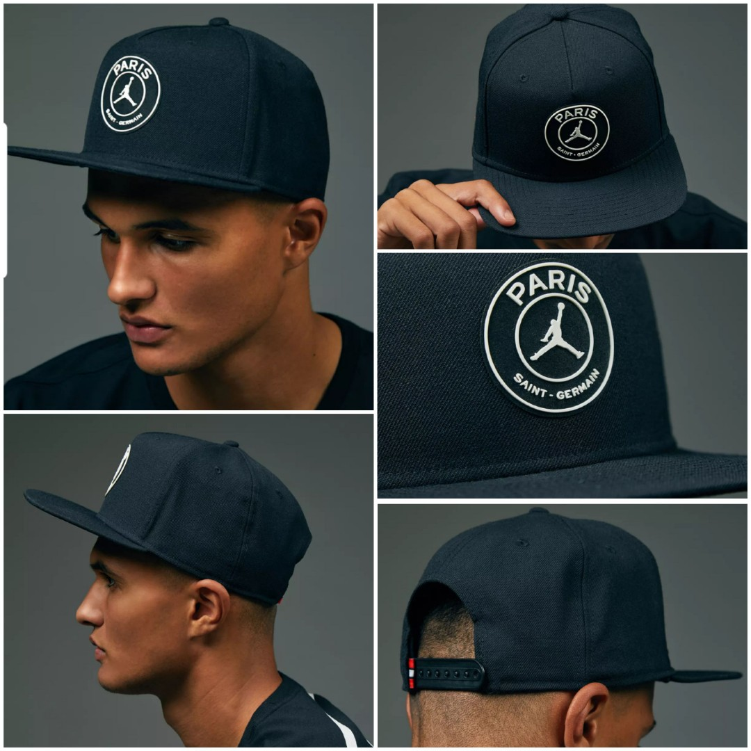 10cc0bd5 Authentic NIKE Air JORDAN x PSG Snapback PRO CAP, Sports, Sports Apparel on  Carousell