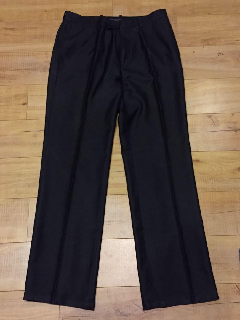 Black Culottes/Slack Pants for Men (Formal Wear)