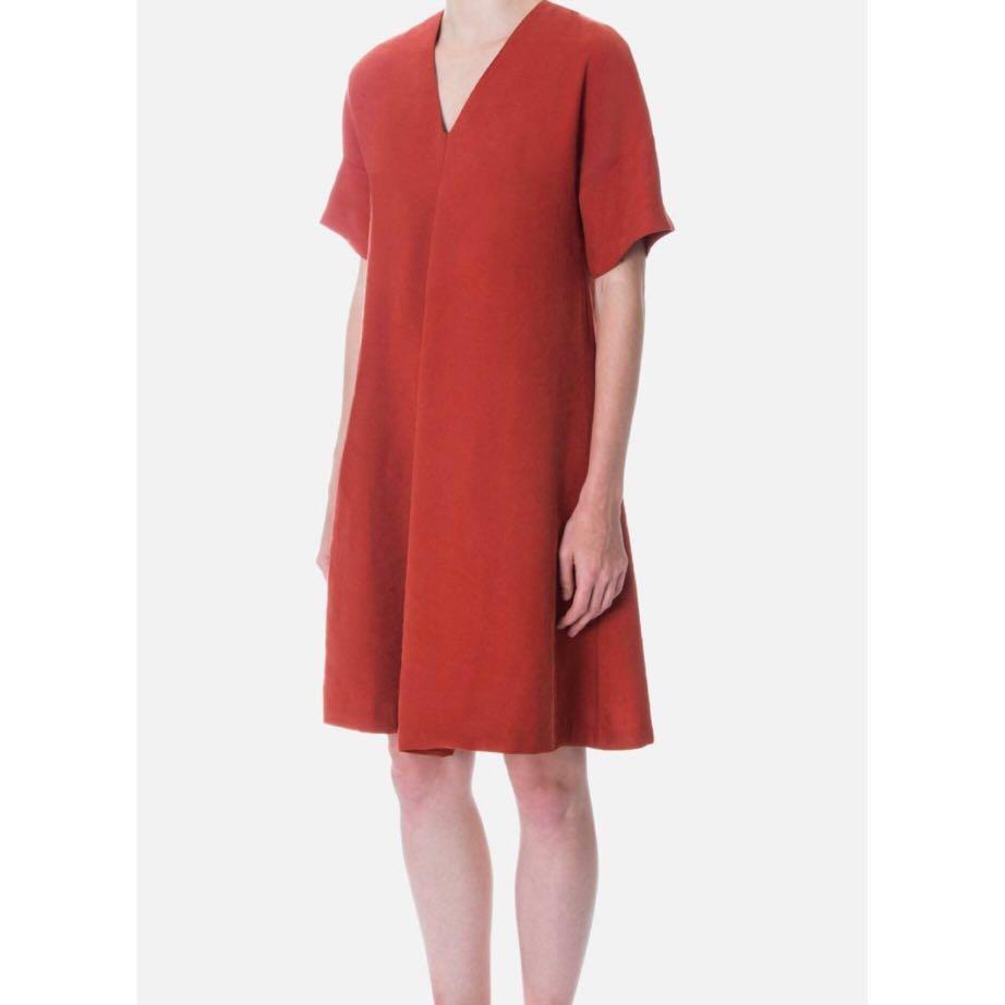 BNWT Beyond The Vines Front Pleat A Line Dress