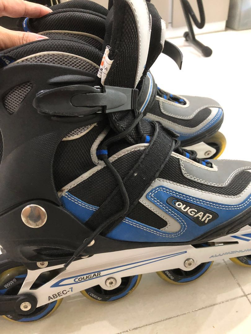 e930e559a9b Cougar Roller Blade, Sports, Sports & Games Equipment on Carousell