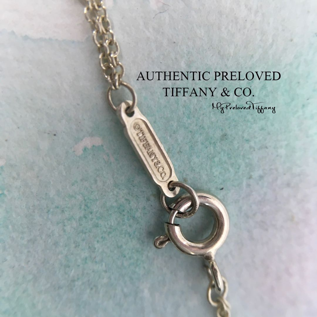 5d6101f7c Excellent Authentic Tiffany & Co Return To Tiffany Rubedo Heart ...