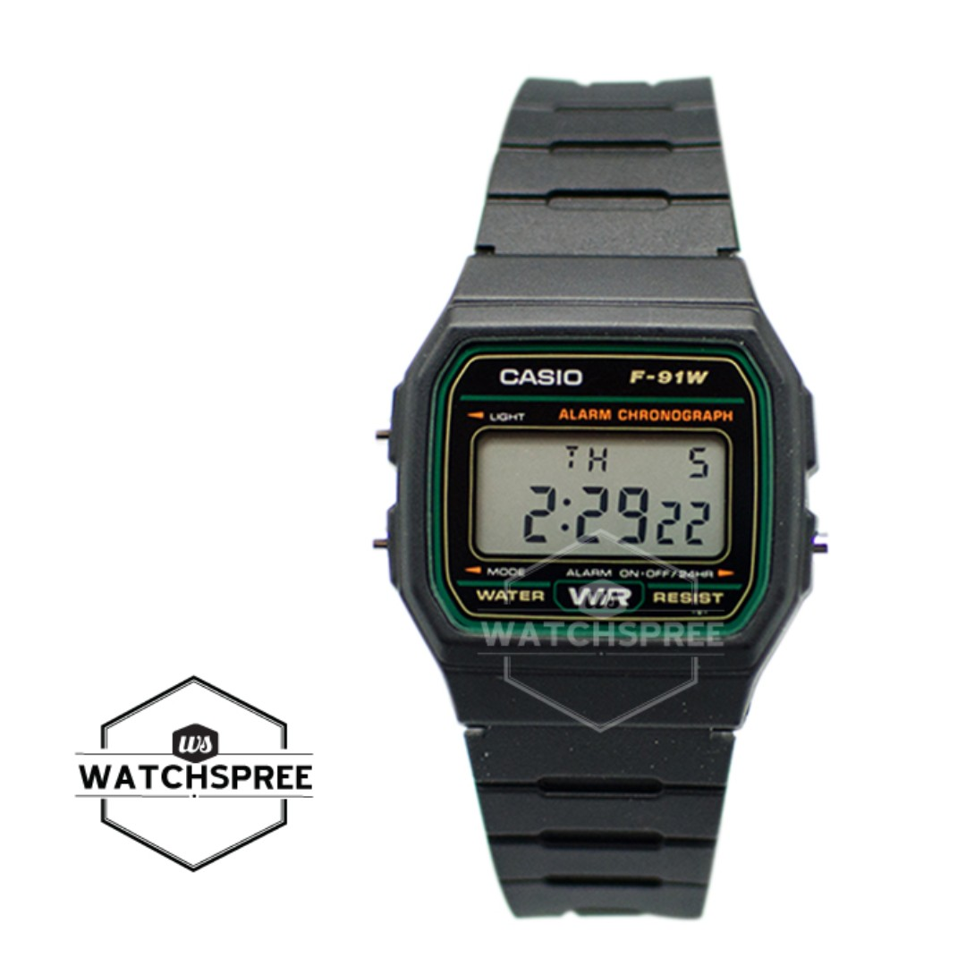 cfb1632df71b FREE DELIVERY  CASIO GENUINE  F91W-3D 100% Authentic with 1 Year Warranty!  F9-1W-3D F91W3D