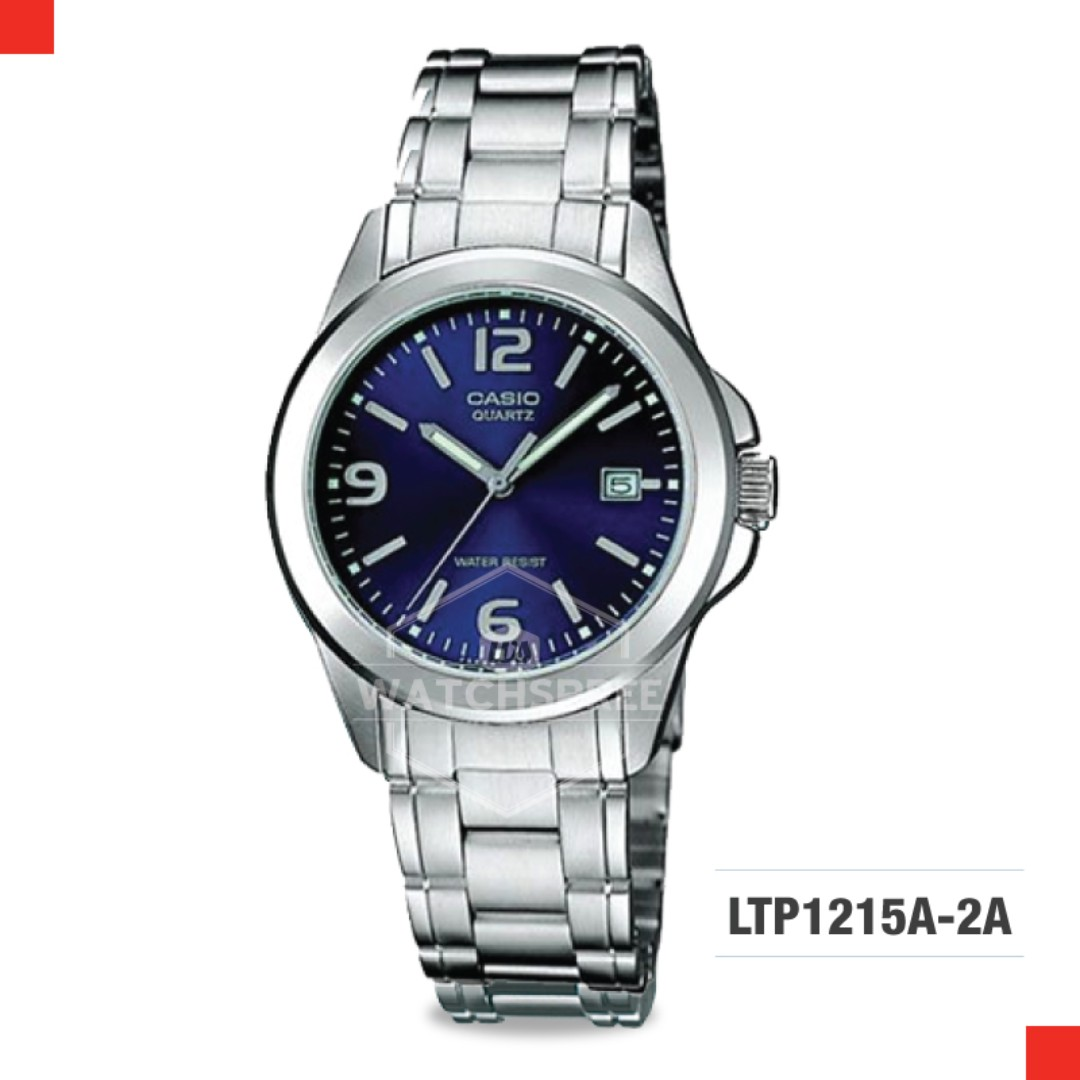 07e364150c42 FREE DELIVERY  CASIO GENUINE  LTP1215A-2A 100% Authentic with 1 Year ...