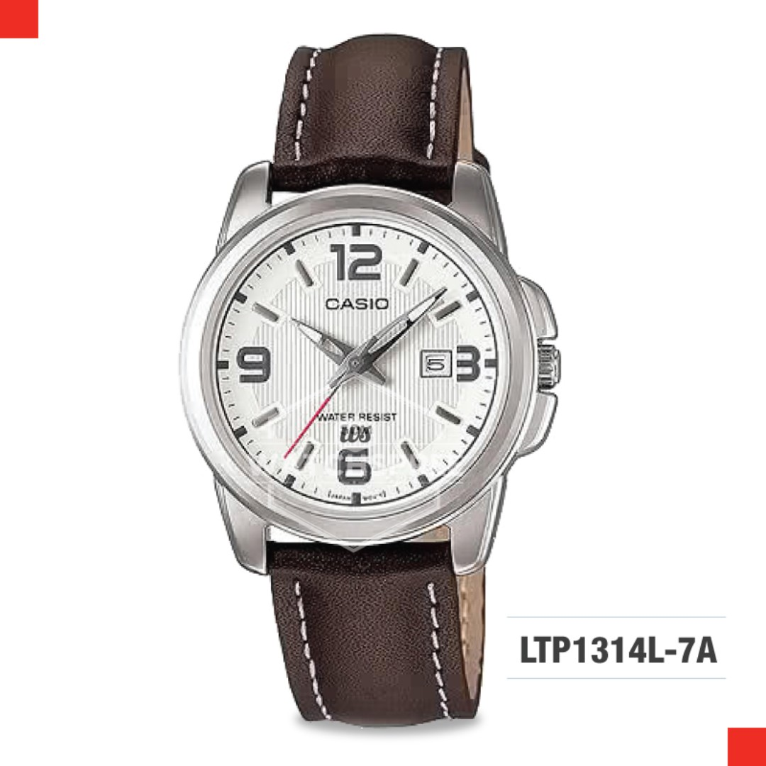 6491a4f44939 FREE DELIVERY  CASIO GENUINE  LTP1314L-7A 100% Authentic with 1 Year ...
